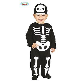 Baby Skeleton Overall Costume for Kids Carnival Carnival Carnival Carnival