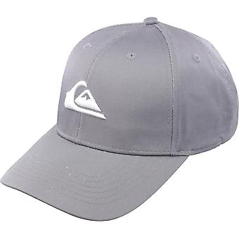 Quiksilver Mens Decades Snapback Hat - Quiet Shade Gray