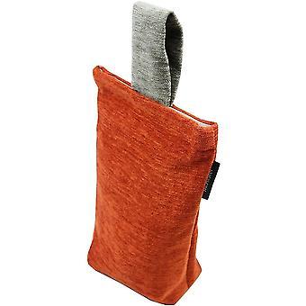 Mcalister Textilien alston chenille gebrannt orange + grau Türanschlag