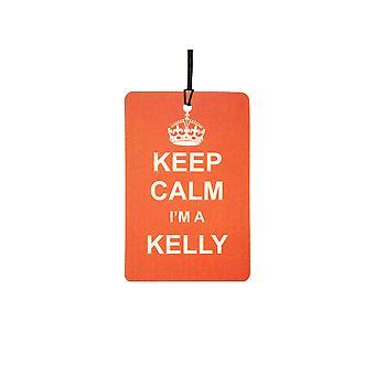 Keep Calm jeg en Kelly Car luftfriskere