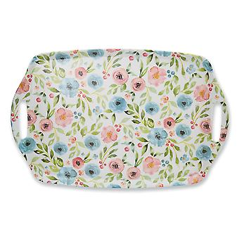 Cooksmart Country Floral Large Tray