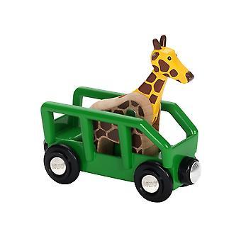 BRIO Safari Wagon i żyrafa
