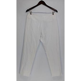 Femmes avec contrôle Petit Pantalon MP Tummy Control Slim Leg White A286521