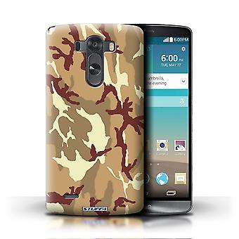 STUFF4 Phone Case / Cover for LG G3/D850/D855 / Brown 4 Design / Camouflage Army Navy Collection
