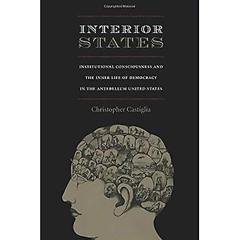 Interior States: Institutional Consciousness and the Inner Life of Democracy in the Antebellum United States (New Americanists)