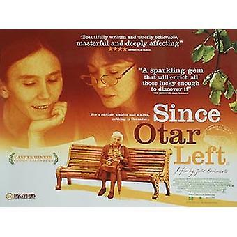 Since Otar Left Original Cinema Poster