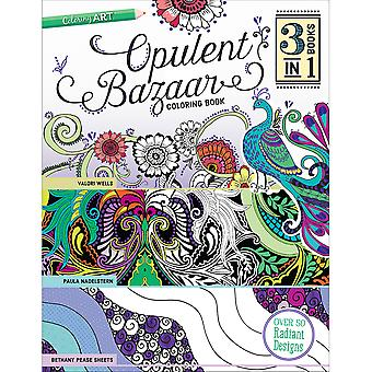 C & T Publishing-opulente Basar Coloring Book CT-54370