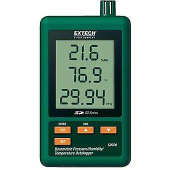 Multi-channel data logger Extech SD700 Unit of measurement Temperature, Air pressure, Humidity 0 up to 50 °C 10 up to 90