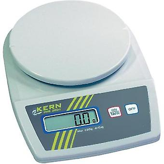 Letter scales Kern EMB 2200-0 Weight range 2.2 kg Readability 1 g mains-powered, battery-powered White