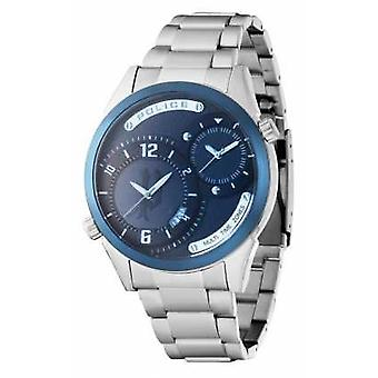Police Mens Stainless Steel Strap Navy Dial 14540JSTBL/13M Watch