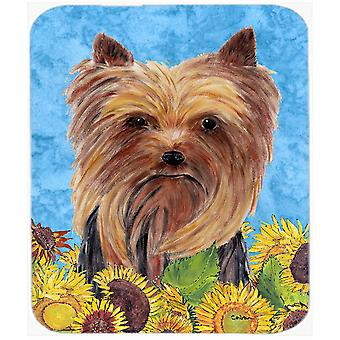 Yorkie Mouse Pad, Hot Pad or Trivet