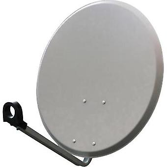 SAT antenna 60 cm Smart SEC60SG Reflective material: Steel Light grey