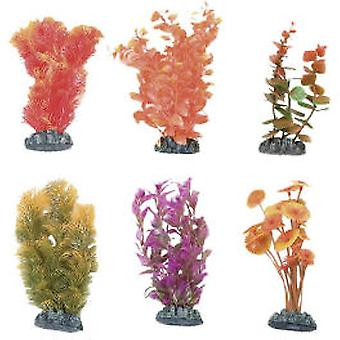 Karlie Flamingo Aquarium Plantes Cuba, assorties en plastique, L