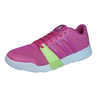 adidas Essential Fun Womens Fitness Trainers / Shoes - Dark Pink