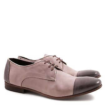 Handgefertigte Damen-Derby-Schuhe Made in Italy