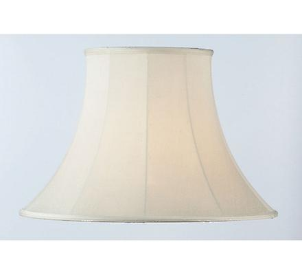 Endon CARRIE-10 inch Cream Bell Lamp Shade