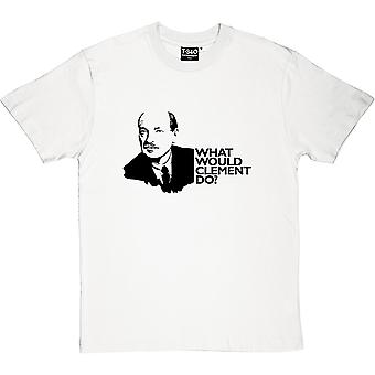 Clement Attlee: What Would Clement Do? Men's T-Shirt