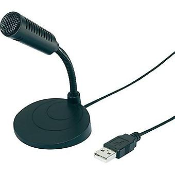 USB microphone Renkforce UM-80 Corded incl. cable