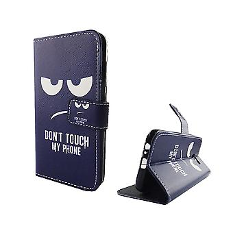Mobile phone case pouch for mobile Samsung Galaxy A5 2017 dont touch my phone