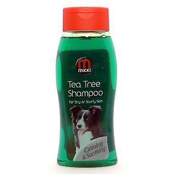 Mikki Shampoo Tea Tree hund 400ml (pakke med 3)