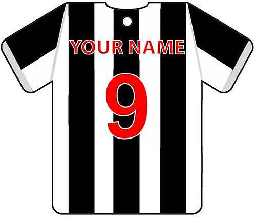 Personalised St Mirren Football Shirt Car Air Freshener