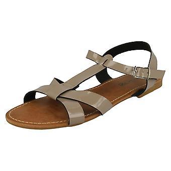 Womens Savannah X Stap T Bar Sandal