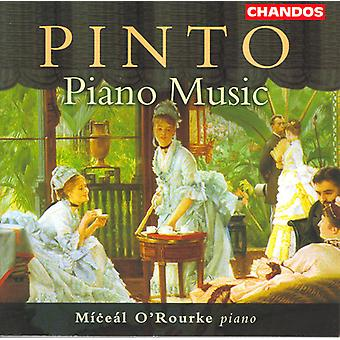 G.F. Pinto - Pinto: Piano Music [CD] USA import