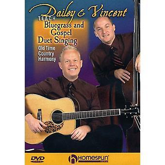 Bluegrass & evangeliet Duet sang - Bluegrass & evangeliet Duet sang [DVD] USA import