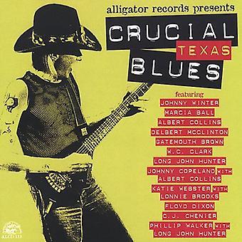 Afgørende Texas Blues - afgørende Texas Blues [CD] USA importerer