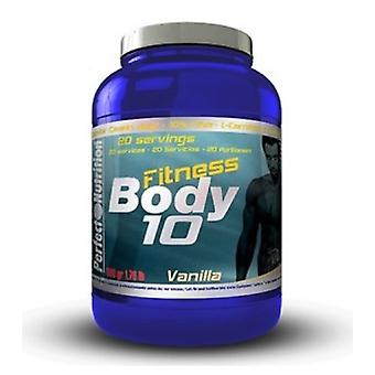 Perfect Nutrition Body Fitness 10 Vanilla Cream (Sport , Proteine)