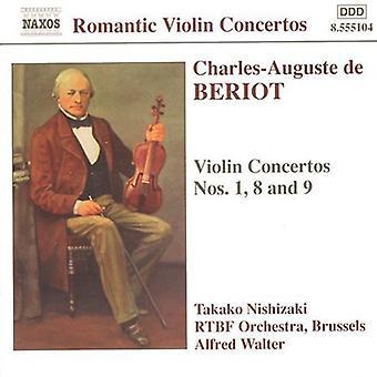 C. Beriot - Charles-Auguste De Beriot: Violin Concertos [CD] USA import