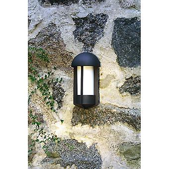 Konstsmide Tyr Matt Black Wall Light