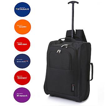 5 Cities IATA Cabin Hand Luggage Trolley Backpack