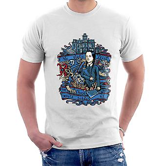Wednesday Addams We Gladly Feast The Addams Family Men's T-Shirt