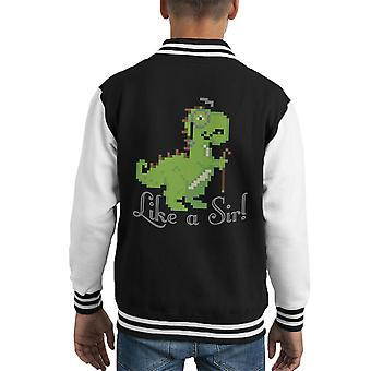 Come Varsity Jacket un capretto di Sir Trex
