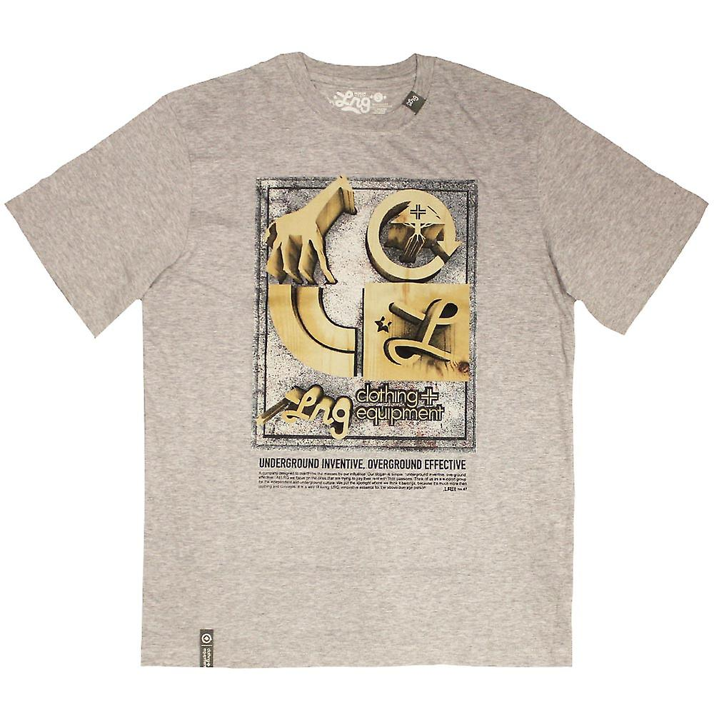 LRG Core Collection sept T-shirt Ash Heather