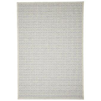In - and outdoor carpet balcony / living room Skandi look silver grey 194 x 290 cm