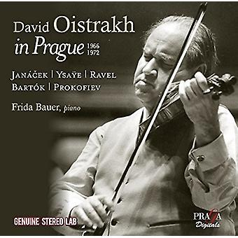 Oistrakh, David / Bauer, Frida - David Oistrakh i Prag [CD] USA import