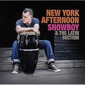 Snowboy & afsnittet Latin - New York eftermiddag [CD] USA importerer