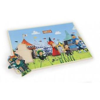 Legler Ritter Rost Puzzle To Strung (Don Brass) (Toys , Preschool , Puzzles And Blocs)