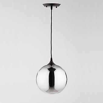 Wellindal Ceiling Lamp 24x28 Gray Glass With Bulb