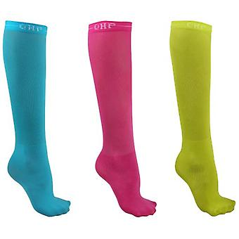 QHP Knee Stockings Color Set of 3 (Horses , Rider equipment , Clothes , Socks)
