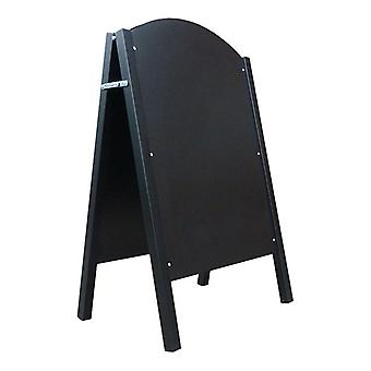 Chalkboard Pavement Sign with Steel A-Frame