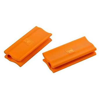 Bra Orange silicone handles  Efficient  (2 units) 36-45 cm