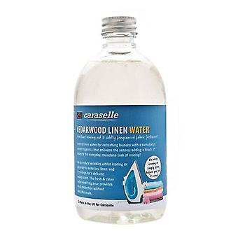 Cedarwood Linen/Ironing Water from Caraselle - 500ml