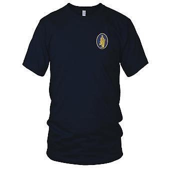 US Army - 111st Infantry Regiment Embroidered Patch - Mens T Shirt