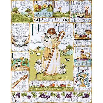 23Rd Psalm Counted Cross Stitch Kit 16