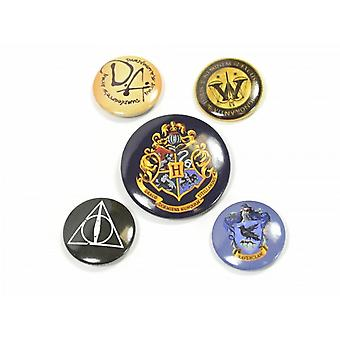Harry Potter Badge Set (Set Of 5)