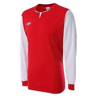 Umbro Aston LS Teamwear shirt (lumière (rouge)