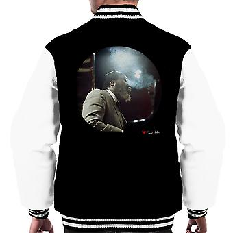 Thelonious Monk Performing At Ronnie Scotts London 1969 Men's Varsity Jacket
